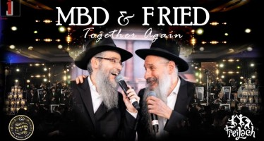 MBD & Fried: Together Again – The Freilach Band & Shira Choir ShasAThon 2019/5779
