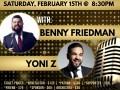 Young Israel of Manhattan 41st Concert: Benny Friedman & Yoni Z