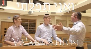 Va'Ani Sefilosi (Official Music Video)