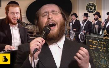 The Badchen Shlomo Yankel Weber & The Shira Choir Performing a Hartziga Mitzva Tantz