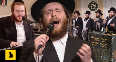 The Badchen Shlomo Yankel Weber & The Shira Choir Performing a Hartziga Mitzva Tantz