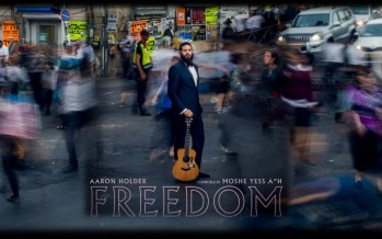 Freedom – Aaron Holder [Moshe Yess Cover] Lyric Video & Audio