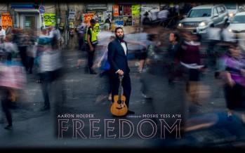 Freedom – Aaron Holder [Moshe Yess Cover] Lyric Video & Audio