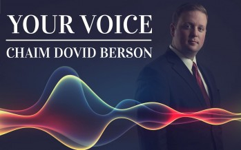 Chaim Dovid Berson – YOUR VOICE