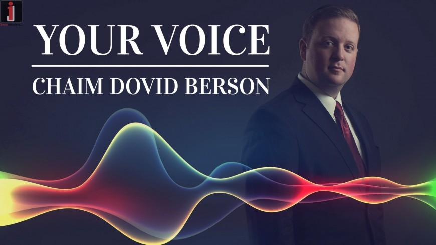 Chaim Dovid Berson – YOUR VOICE