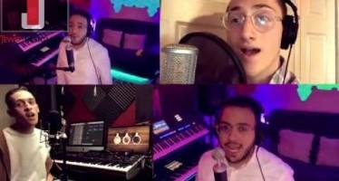 Lashuv Habayta by Ishay Ribo (feat. Dovid Pearlman, Dovid Haziza, Danny Palgon, Isaac B, and Rafi B)