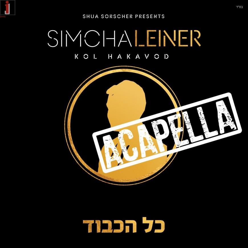 SIMCHA LEINER | Kol Hakavod Acapella Album Sampler! ALL SOUNDS MADE WITH VOCALS!