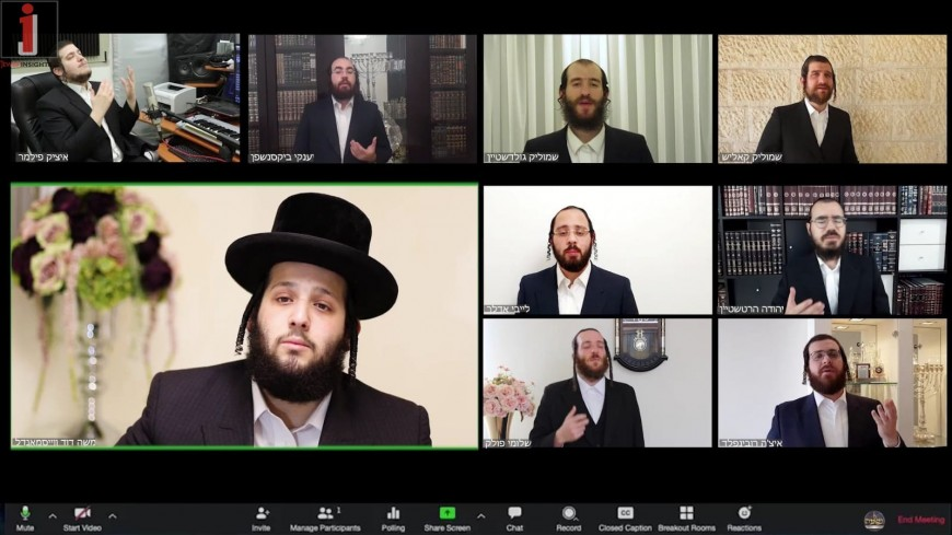 Moshe Dovid Weissmandl & Neshama Choir – V'ohavto Lereiacha Komoicha Acapella