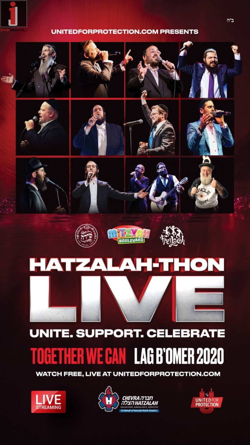24 Hours of Thank You -Hatzalah-Thon: A Day of Joy, Appreciation, and Giving