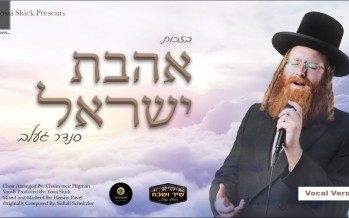 Sender Gelb – Ahavas Yisroel [Acapella] Lyrics Video