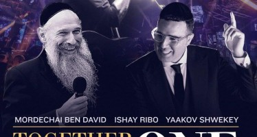 Historic Livestream Music Event – Together As One: MBD – YAAKOV SHWEKEY & ISHAY RIBO