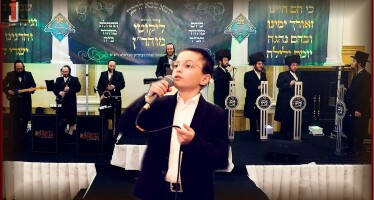 "Wonder-child Mayer Rosinger In His Debut Video ""Groishen In Himmel"""