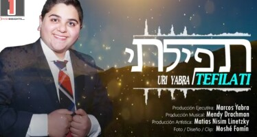 "Uri Yabra With His Debut Single ""Tefilati"""