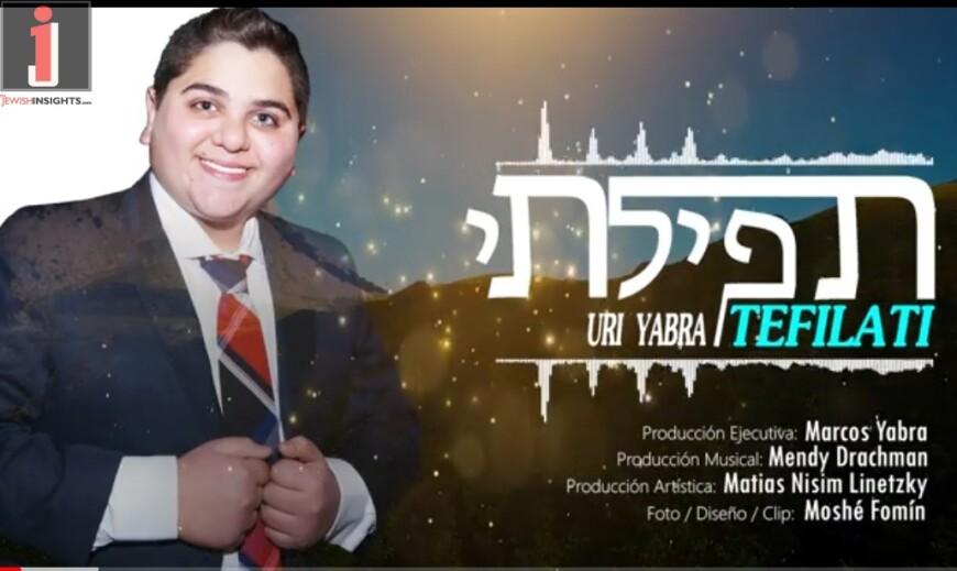 """Uri Yabra With His Debut Single """"Tefilati"""""""