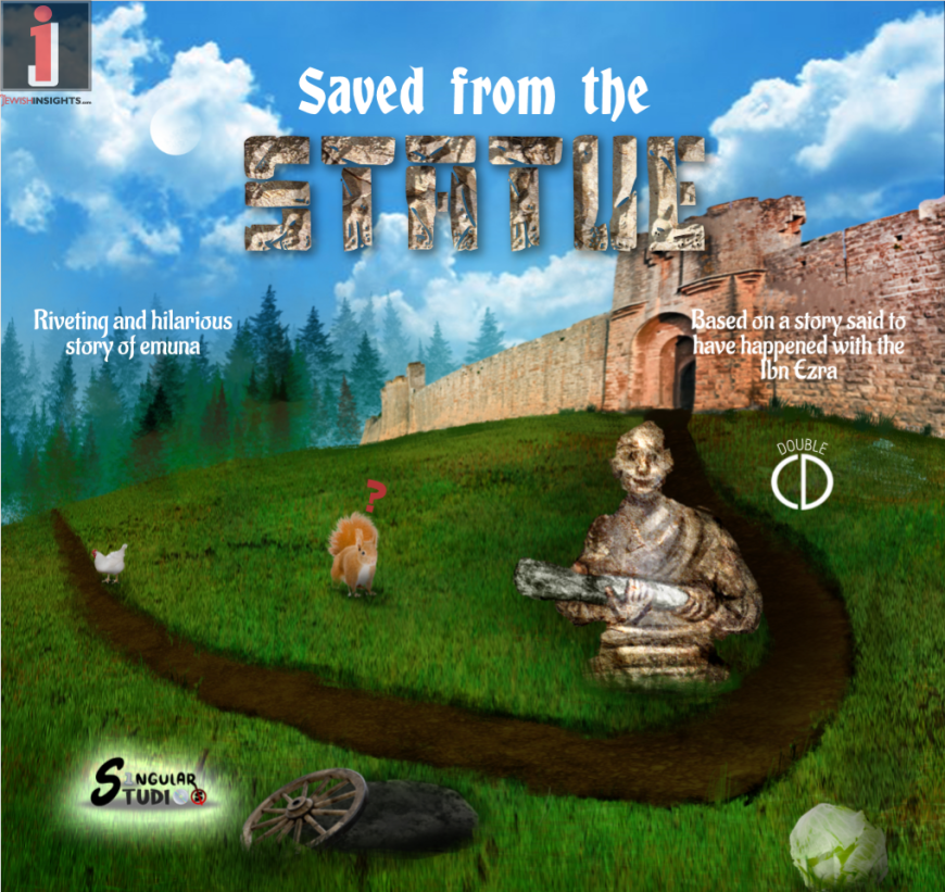 Presenting: Saved from the Statue – Exciting New Children's Album