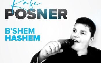 Rafi Posner – B'Shem Hashem