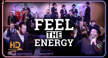 Feel The Energy! Hershy Posner ft. R' Shloime Taussig & Lev Choir