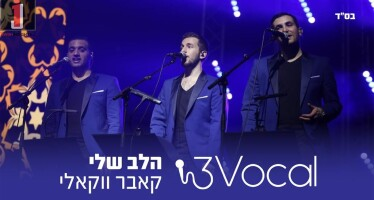 "Acapella Group 3Vocal With A New Acapella Cover ""Halev Sheli"""