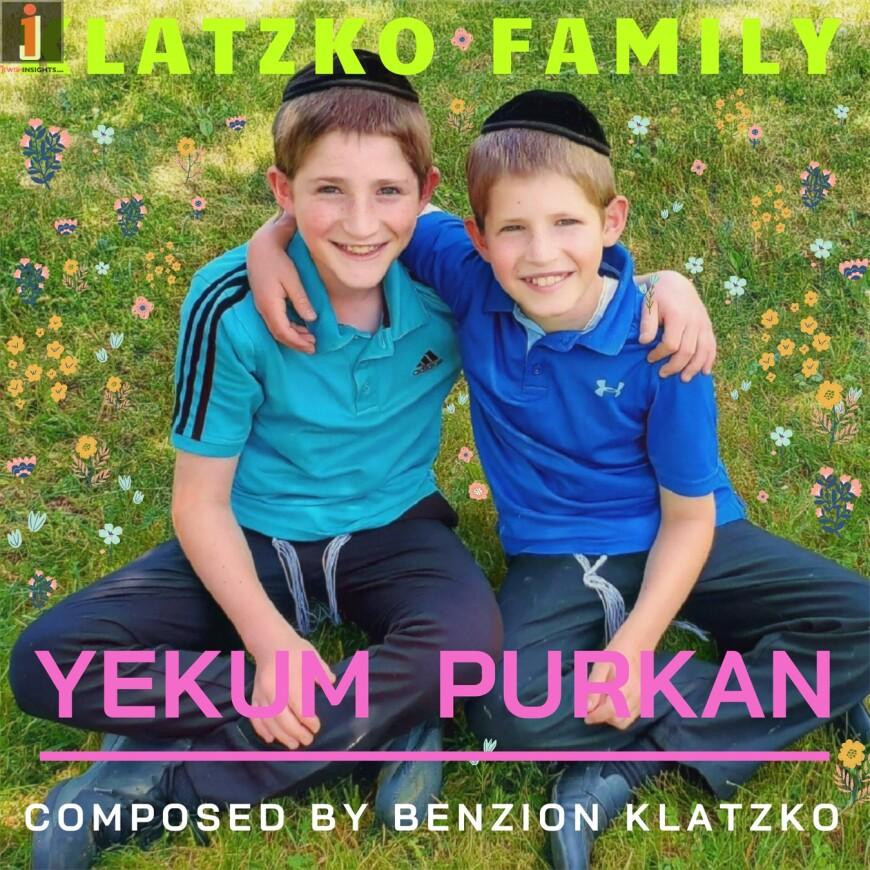 Klatzko Family ft. Elazar and Meyer – Yekum Purkan [Official Music Video]