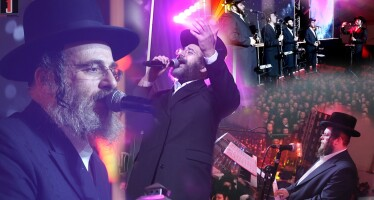 "Issac Honig, Israel Adler, Shira Choir & Orot Orchestra Conducted By Shia Barim In A New ""Hadran"" In Honor Daf Yomi Siyum For Maseches Shabbos"