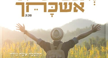 "Yedidya Yehoshua Releases A New Single With Words From The Haftaros of Nechama ""Veanochi Lo Eshkachech"""