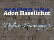 "Dylan Homapour – ""Adon Haselichot"""