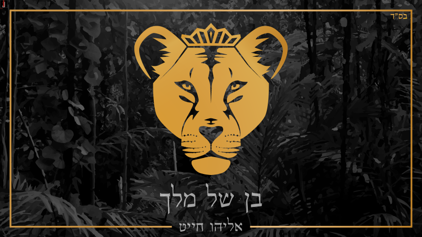"Eliyahu Chait With A New Single In A Unique Stlyle ""Ben Shel Melech"""