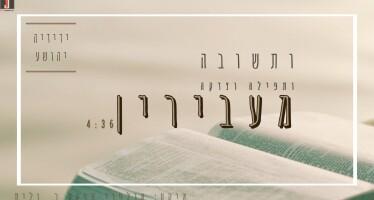 Yedidya Yehoshua – Useshuva