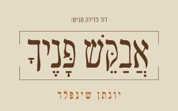 "Yonatan Shainfeld With A New Single ""Avakesh Panecha"""