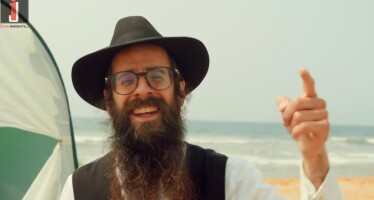 California Shliach Releases Joyous & Humorous Sukkah Music Video