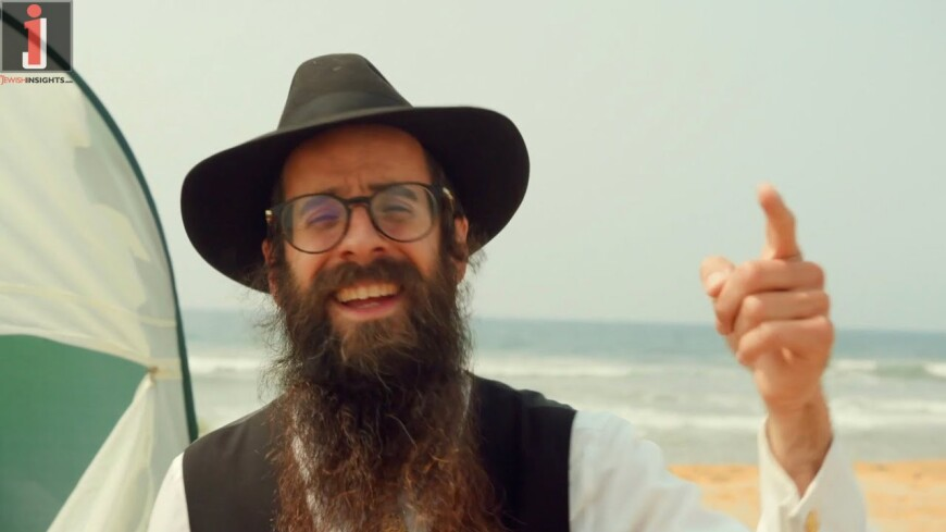 California Shliach Releases Joyous & Humorous Sukkah Music Video