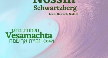 "New Single ""Vesamachta"" For Succos From Nossin Schwartzberg"