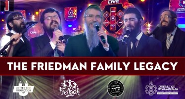 The Friedman Family Legacy – Avremel, Benny, Eli Marcus & 8th Day | Freilach & Shira – Hatzalah-Thon