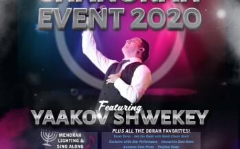 Shwekey Chanukah Event with Oorah!