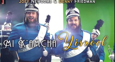 MI K'AMCHA YISROEL – Joey Newcomb feat. Benny Friedman (Official Music Video)