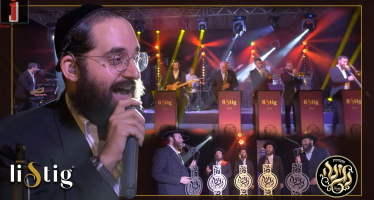 Energetic LIVE Performance Shloimi Meisler ,Listig Band & Negina Choir