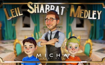Leil Shabat Medley with Micha Gamerman (Official Animation Video)