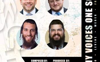 Many Voices One Song (feat. Beri Weber, Baruch Levine, Mordechai Shapiro & Benny Friedman)