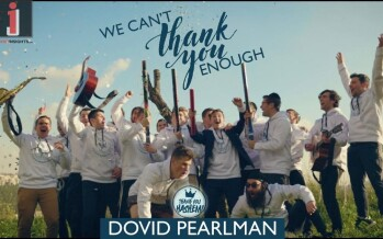 DOVID PEARLMAN – We Can't Thank You Enough (Official Music Video)