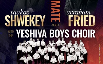 EG Production Presents: FREE Concert – Avraham Fried, Yaakov Shwekey & The Yeshiva Boys Choir