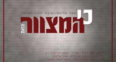Meir Elias – Ki Hamitzvah Hazot