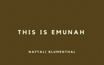 NAFTALI BLUMENTHAL – THIS IS EMUNAH [OFFICIAL VIDEO]
