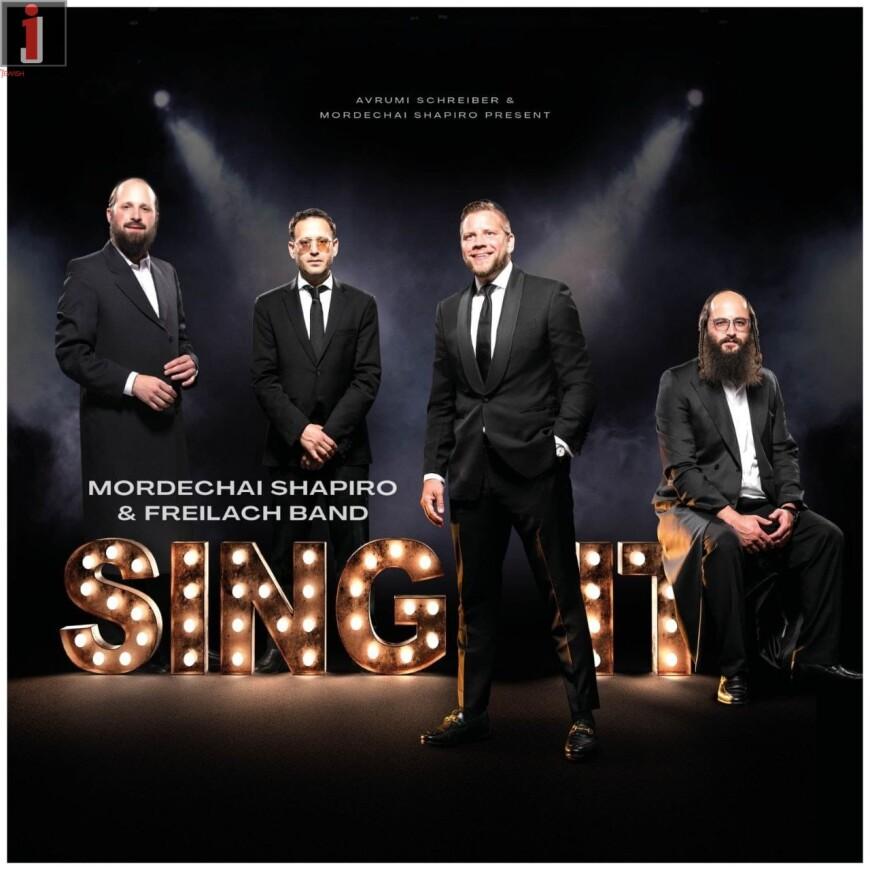 SING IT – Mordechai Shapiro & The Freilach Band [Album Preview]