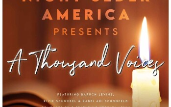 A Thousand Voices/Night Seder America – Baruch Levine, Rivie Schwebel, Ari Schonfeld & Yeshaya Levin