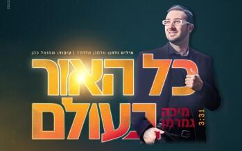"He Returns: Micha Gemerman From Brazil In A New & Illuminating Single – ""Kol HaOr BaOlam"""