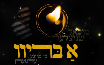 """Michoel Schnitzler Sings A Heartwarming Song """"A Breev"""" For A Family That Lost A Child"""